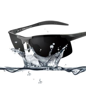Duco Men's Sports Style Polarized Sunglasses Driver Glasses Unbreakable Frame 8177