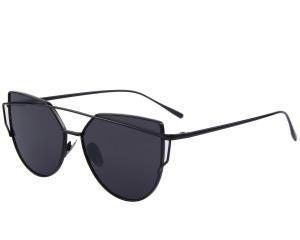 MERRY'S Fashion Women Cat Eye Sunglasses Coating Mirror Lens Sun glasses UV400 S7882