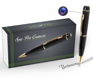 Spy Pen Camera - Tech Gadget -1280*720 High Reslution DVR, Video Camcorder, Webcam, Pictures & Audio - Best Quality Portable - Mini Hidden Security & Surveillance Secret Agent - with free 8 GB SD Card