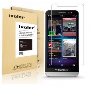 Blackberry Z30 Screen Protector- iVoler® [0.2mm 9H Hardness] Tempered Glass Screen Protector for Blackberry Z30- Anti-Scratch, Anti-Fingerprint, Bubble Free- Lifetime Replacement Warranty