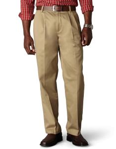 Dockers Men's Classic Fit Signature Khaki Pant - Pleated D3