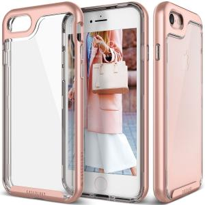 Ốp lưng iPhone 7 Case, Caseology [Skyfall Series] Transparent Clear Enhanced Grip [Rose Gold] [Slim Cushion] for Apple iPhone 7 (2016)