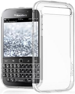 BlackBerry Classic / Q20 Case - VENA [vSkin] slim Protection [1.0mm Thin] TPU Case Cover for BlackBerry Classic / Q20 (Clear)