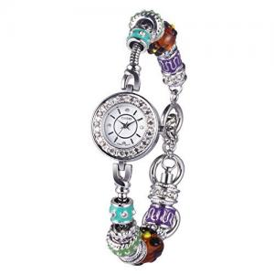 Time100 Fashion Retro Diamonds Bracelet Womens Watch #W50247L.01A