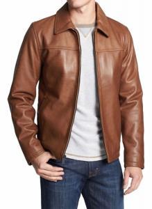 Silversoft Men's Lambskin Leather Jacket