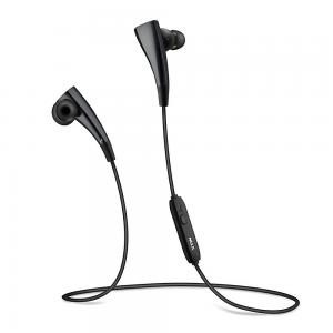 Vtin Bluetooth 4.1 Magnetic Headsets Noise Cancelling Earphones with Mic for iPhone 6s 6s plus and Android Phones-Black
