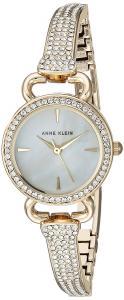 Anne Klein Women's Quartz Metal and Alloy Dress Watch, Color:Gold-Toned (Model: AK/2816MPGB)