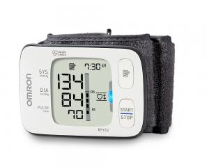 Omron BP652/BP652N 7 Series Wrist Blood Pressure Monitor with Heart Zone Guidance and Irregular Heartbeat Detector