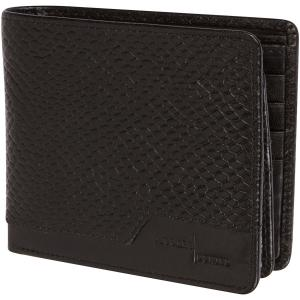 Access Denied Mens Leather RFID Blocking Wallet 12 Card Slots