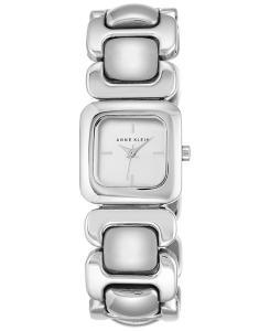 Anne Klein Women's Silver-Tone Bracelet Watch 26mm AK/2651SVSV
