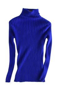 Liny Xin Women's Cashmere Long Sleeve Turtleneck Slim Was Thin Sweater