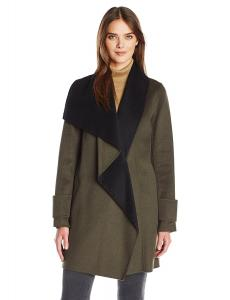 Calvin Klein Women's Double Face Wool Coat