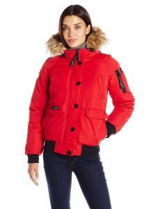 Canada Weather Gear Women's Sport Bomber Jacket