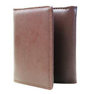 Mens RFID Blocking Trifold Leather Wallet with ID Window