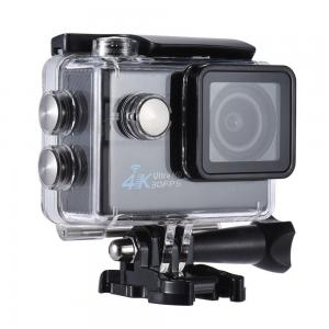 """Andoer 2.0"""" LCD Wifi Action Sports Camera Ultra HD 16MP 4K 30FPS 1080P 60FPS 4X Zoom 170 Degree Wide-Lens Support Image Rotation Time Watermark Waterproof 30M Car DVR DV Cam Diving Bicycle"""