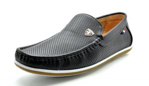 Bruno MARC MODA ITALY BUSH Men's Casual Rubber Sole Driving Loafers Stitched Lining Slip On Boat Shoes