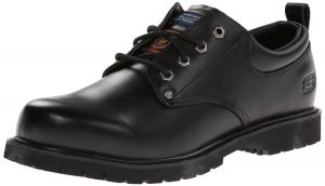 Skechers for Work Men's Cottonwood Fribble Slip Resistant Work Shoe