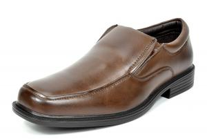 Bruno MARC Men's Square Toe Slip On Leather Lined Classic Dress Loafers Formal Shoes