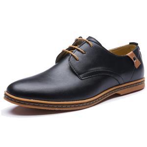 XMWEALTHY Men's Size Plus Dress Shoes