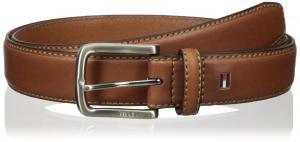 Tommy Hilfiger Men's Leather Stitch Belt