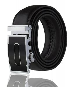 Men's Imperial Ratchet Leather Dress Belt