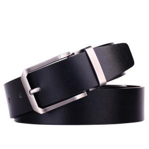 """Beltox Fine Men's Genuine Leather 1.3"""" Wide Dress Belts"""