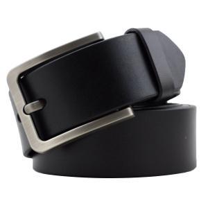 Kaleido Men's 38mm Silver Buckle Leather Belt