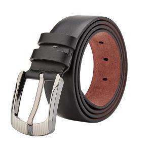 Men's Leather Dress Belt 35mm Wide 125cm Lengh ( Brown,Black )