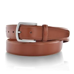 Leather Belts for Men Business Style 35mm Wide