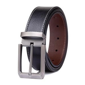 Tonly Monders Men's Leather Reversible Stitch Belt