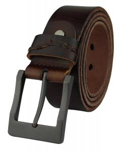Heepliday Men's Simple Casual Soft Vintage Leather Belt