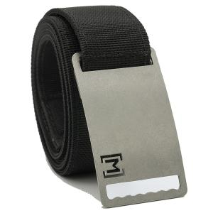 MagBelt - Magnetic Adjustable Belt with Buckle. No Holes. Perfect fit.