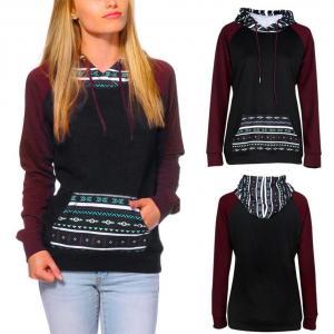 Hoodie ,BeautyVan Fashion Beautiful Womens Long Sleeve Hoodie Pullover Tops Blouse (S, Black)
