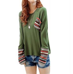 HOT Sale!Canserin Women Long Sleeve Round Neck Shirt