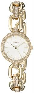 Fossil Women's ES4125 Kerstyn Three-Hand Gold-Tone Stainless Steel Watch