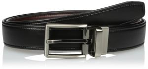 Dockers Men's Reversible dress Belt with Comfort Stretch