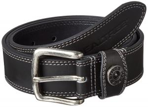 Real Tree Men's Contrast Stitch Genuine Leather Shot Shell Belt