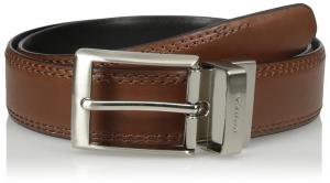 Nautica Men's 1 3/8 in. Saddle-Leather Reversible Belt
