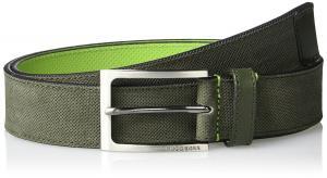 BOSS Green Men's Tobsy Suede Leather Belt