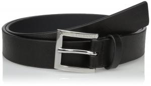 Armani Exchange Men's Classic Saffiano Belt