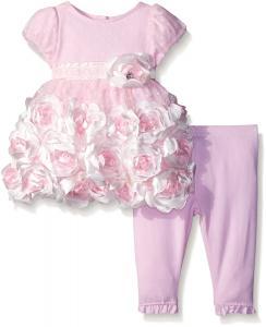 Nannette Baby Girls' Bubble Tunic and Legging Set