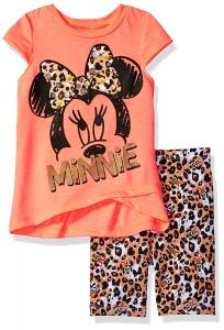 Disney Toddler Girls' Minnie Mouse Bike Short Set