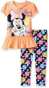Disney Girls' Minnie Mouse Legging Set