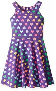 The Children's Place Unisex-Baby' Her Li'l U-Neck Dress