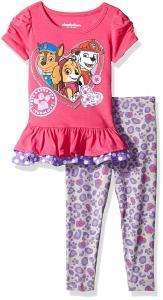Nickelodeon Baby Girls' Paw Patrol 2-Piece Legging Set