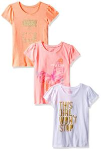 The Children's Place Toddler Girls' Her Li'l Screen Tees (Pack of 3)