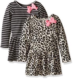 The Children's Place Toddler Girls' Drop Waist Dress (Pack of 2)