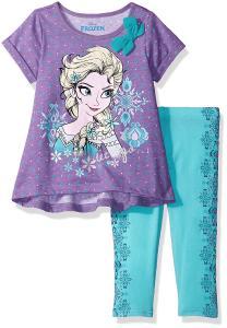 Disney Toddler Girls' 2 Piece Frozen Legging Set