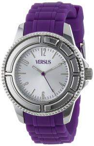 Versus Versace Unisex Tokyo 38 MM - SH701 0013 Silver/Purple Watch