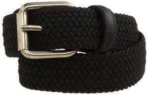 Levi's Big Boys' Braided Elastic Web Belt
